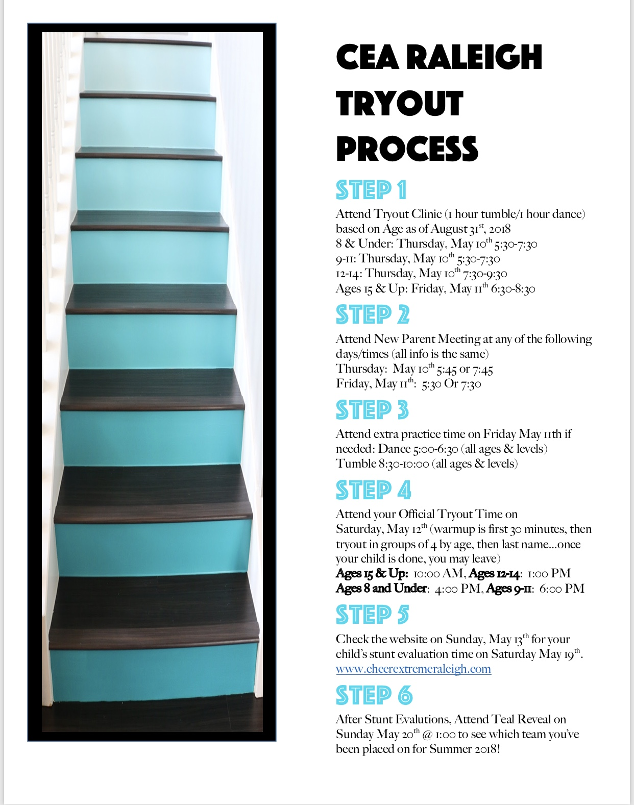 Tryout Info - Cheer Extreme Allstars